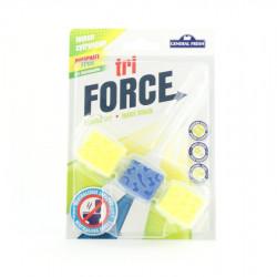 Kostka WC General tri-force 45g lemon