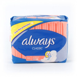 Podpaski Always classic 10szt. normal