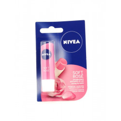 Pomadka ochronna Nivea 4,8g soft rose