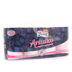 Papier toalet. Foxy 8szt. artistico pink