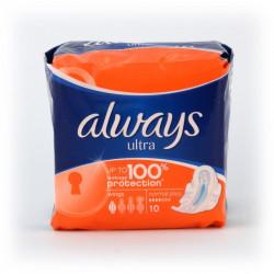 Podpaski Always ultra 10szt. plus