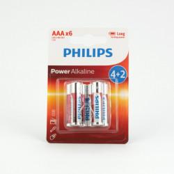 Bateria Philips LR03 4szt. + 2szt....