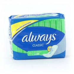 Podpaski Always classic 10szt. standard