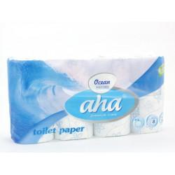 Papier toalet. Aha 8szt. ocean