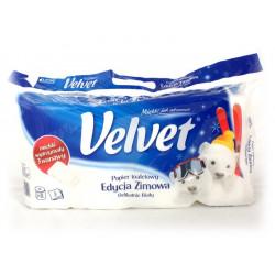 Papier toalet. Velvet 8szt. biały...