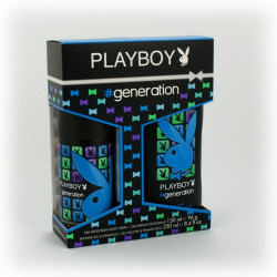 Zestaw Playboy men generation (żel...