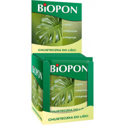 Biopon - Chusteczki do liści 15szt.