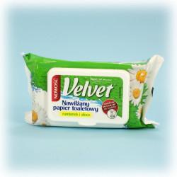 Papier toalet. nawilżający Velvet...