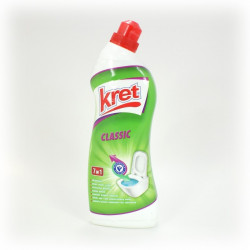 Żel do WC Kret 750g 4w1 clasic
