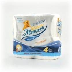 Papier toalet. Almusso 4szt. celuloza
