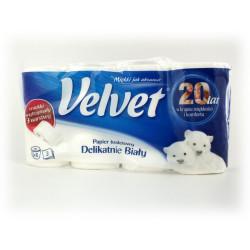 Papier toalet. Velvet 8szt. biały XXL