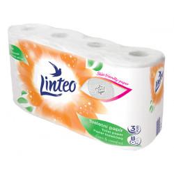 Papier toalet. Linteo 8szt. 3-warstwowy
