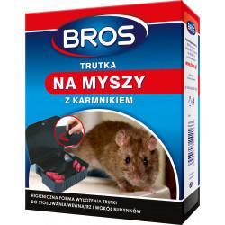 Bros - Karmnik z trutką na myszy