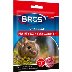 Bros - Granulat na myszy i szczury 90g