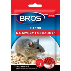 Bros - Ziarno na myszy i szczury 90g