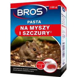 Bros - Pasta na myszy i szczury 100g...