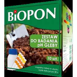 Biopon - Zestaw do badania pH gleby...