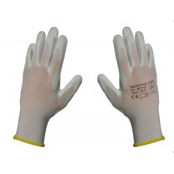 """Rękawice powlekane cienkie """"10""""(XL)..."""