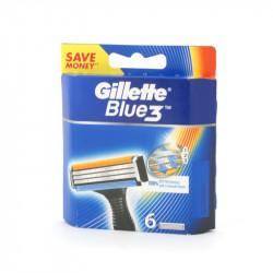 Wkłady Gillette blue 3 6szt.