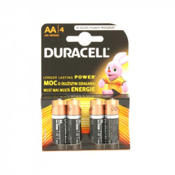 Bateria Duracell LR6 alkaliczna (AA)...