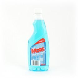 Płyn do szyb Mors 500ml zapas niebieski